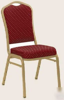 100 Pc Stacking Padded Banquet Chair Church Poker Bingo