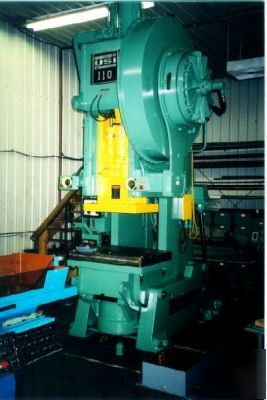 110 Ton Usi Clearing Gear Open Back Inclinable Press