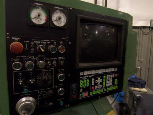 1986 Used Hitachi Seiki Ht20 Cnc Lathe Turning Center