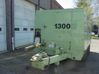 1999 Sullair 1300 H Portable Air Compressor 1300 Cfm
