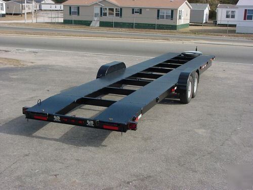 2 Car Trailer Bumper Pull Gooseneck Available