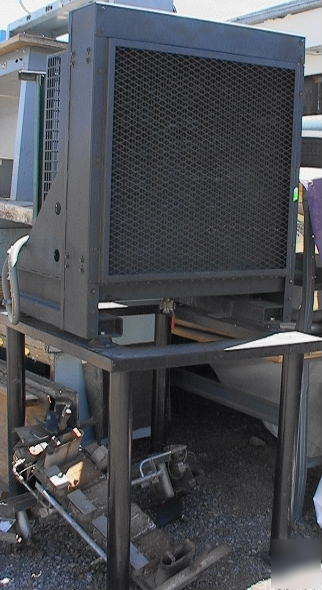 Industrial Cooling Fan : Hp industrial cooling radiator with fan