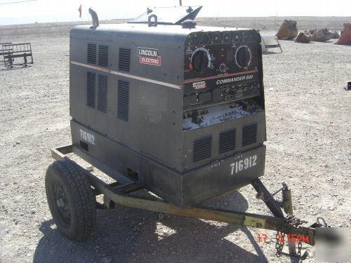 Lincoln Electric Mig Welder >> 2000 lincoln CMDR500-K1639-1 portable welder