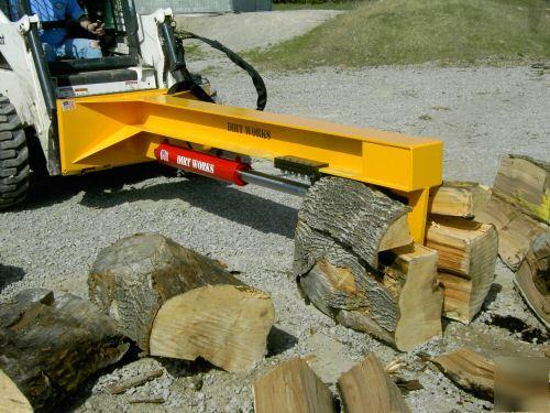 30 Ton 180 Degree Log Splitter Bobcat Skidsteer