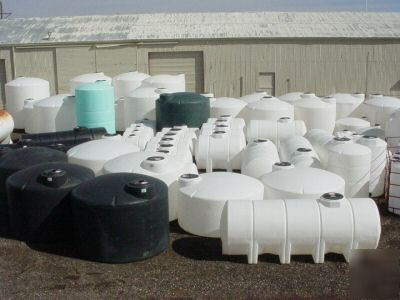 4000 Gallon Poly Fresh Water Only Storage Tank Tanks