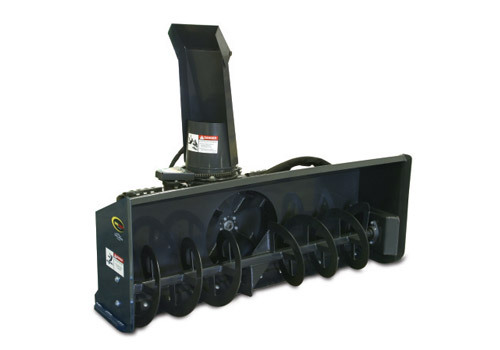 85 snow blower mnl attachment for bobcat cat skid steer