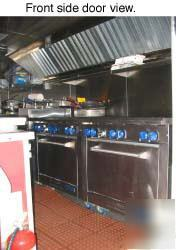 A 1 Catering Concession Vending Kitchen Truck