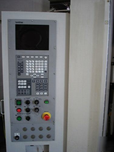 Brother Tc 32a Cnc Drilling Milling And Tapping Machine