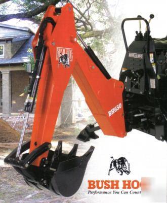 Bush Hog 650 3pt Backhoe For Compact Tractors