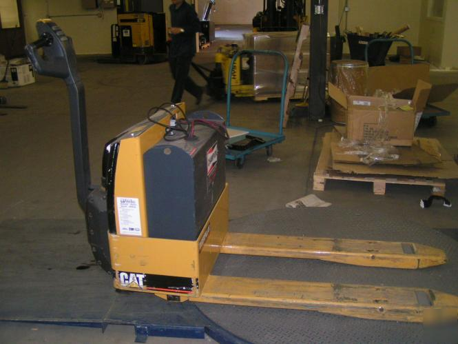 Caterpillar Electric Pallet Jack Mdl Npp40