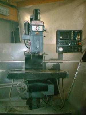 Clausing kondia cnc mill,w/ dynapath 20 cnc controller