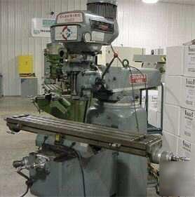 Clausing kondia vertical turret mill FV1 w/ servo feed