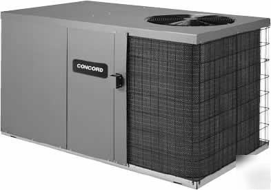 Concord 4 Ton Package Heat Pump Unit 13 Seer