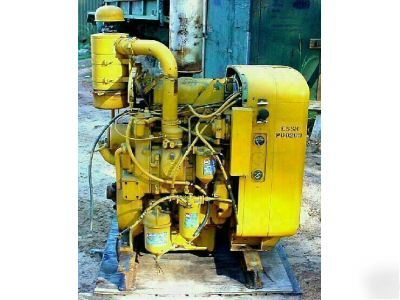 Detroit Diesel 2 53 Engine Power Unit