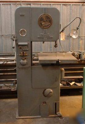 Doall Ml 16 Quot Bandsaw Band Saw W Blade Cabinet Do All