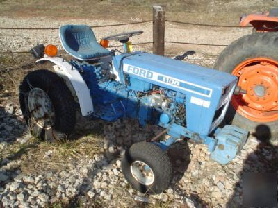 Ford 1100 13hp Diesel Tractor