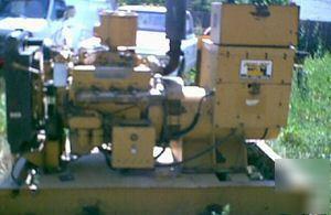 Genset cat D3208 125KW generator set diesel power