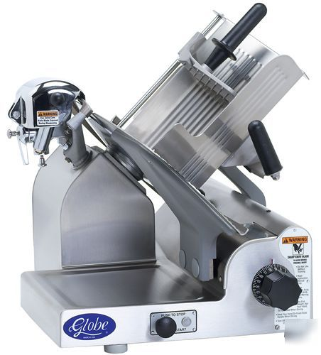 Globe 3600 12 U0026quot  All Stainless Gear Driven Manual Slicer