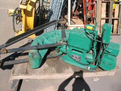 Greenlee 785 6 inch pipe bender electric hydraulic
