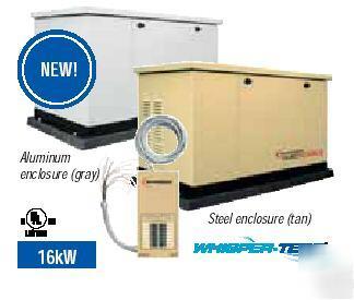 Guardian Generac 16kw Standby Generator 5243 Steel