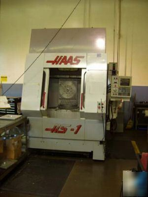 Haas HS1R 1997 cnc horizontal machining center