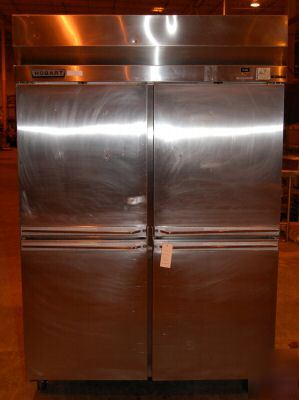 Hobart 4-door pass-thru refrigerator, model H2