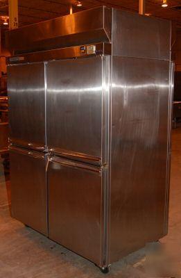 Hobart 4 Door Pass Thru Refrigerator Model H2