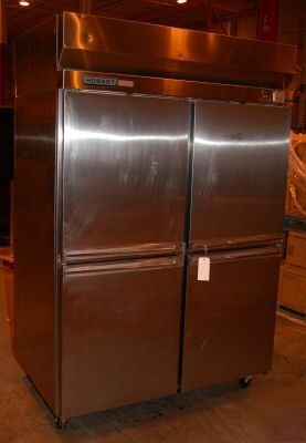 Hobart 4 Door Pass Thru Refrigerator Model H2