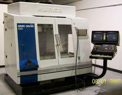 Hurco BMC30 cnc vertical machining center ultimax 3