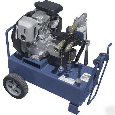 Hydraulic Power Unit Portable 8 Hp Honda 7 Gpm