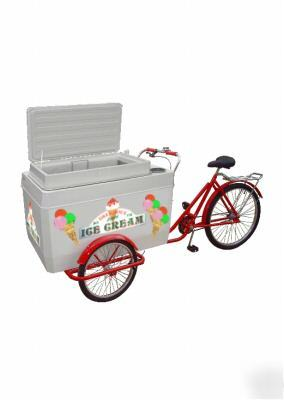 Subject: Ice cream cart - freezer tricycle