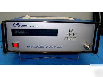 Jc air - gns 743A gps/glonass satellite simulator