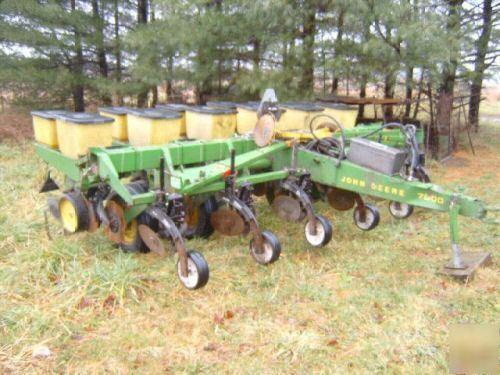 John Deere No Till Planter Corn Soybean Yetter Kinzie