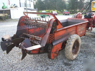 Manure Spreader Case Model 75 Farm Machinery