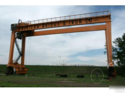 Mi Jack 800c Travel Lift Mobile Gantry Crane 90k Lb Cap