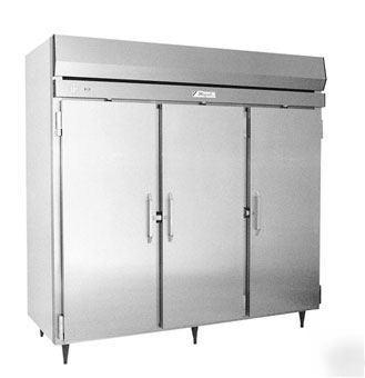 Migali R82st 3 Door Reach In Refrigerator