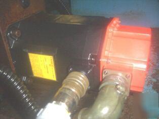 Miyano cnc lathe bnc-34T fanuc 0T lns hydrobar