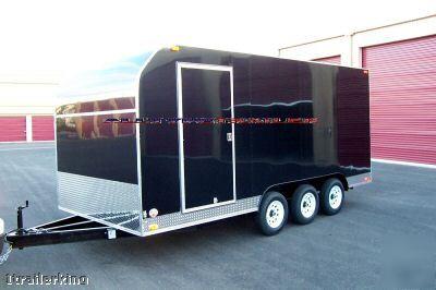 New 2007 18 Enclosed Utility Vendor Concession Trailer
