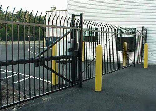 New Alltec Self Storage Commercial Monorail Slide Gate