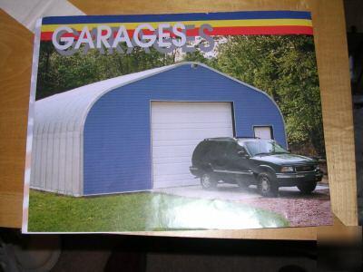 New american steel span building kit garage 30 x 30 for American garage builders