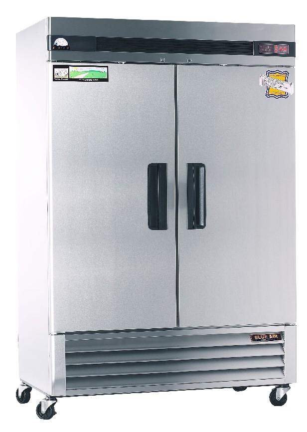 New Blue Air Solid 2 Door Freezer Basf2