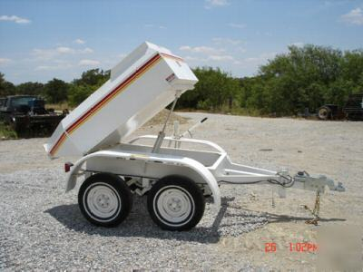 New cemen tech dt-100 concrete buggy / trailer