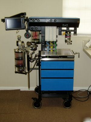 North American Drager Narkomed 2c Anesthesia Machine