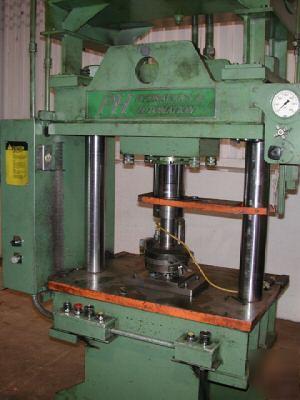 P&h hydraulic automation 50 ton 2 post hydraulic press