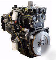 Perkin 86 hp 4-cylinder diesel engine model 1004-42