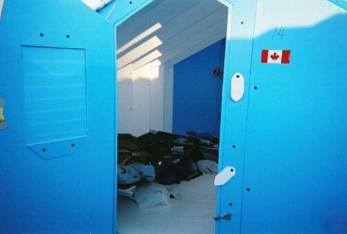 Portable Hazardous Waste Wash Shelter Amp Storage Shed