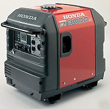 Portable Honda Super Quiet Generator Eu3000i 3kw