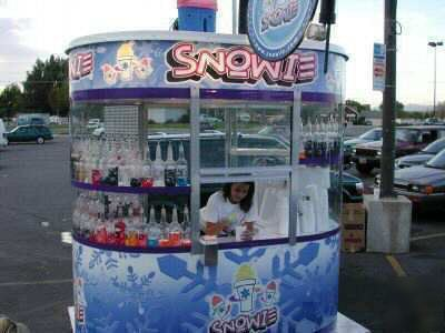 Snowie Shaved Ice 8x5 Bldg Concession Stand Amp Shaver