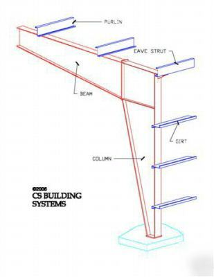40 X 50 Steel Building http://www.lislesurplus.com/S/Steel-building-metal-building-40X50X14-steel-buildings/