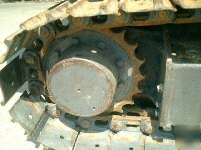 Yanmar YB271UZ diesel mini excavator diesel blade,nice